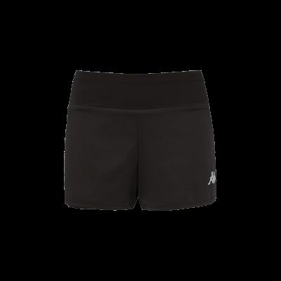 short femme falza noir tennis squash bad kappa