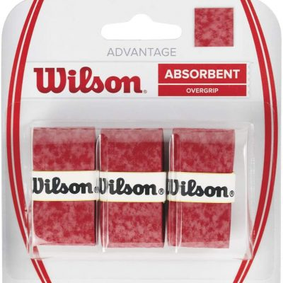 Surgrip wilson advantage rouge, absorbent