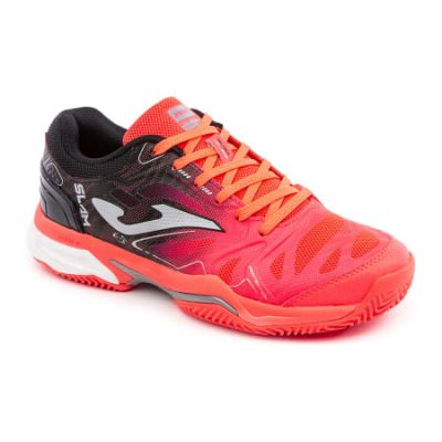 Chaussures Joma Tennis Joma rose noir terre battue moquette